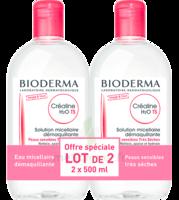 Crealine Ts H2o Solution Micellaire Sans Parfum Nettoyante Apaisante 2fl/500ml à ERSTEIN