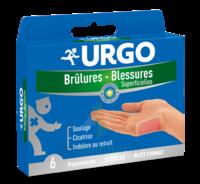 Urgo Brulures-blessures Petit Format X 6 à ERSTEIN