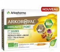 Arkoroyal Immunité Fort Solution Buvable 20 Ampoules/10ml à ERSTEIN