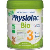 Physiolac Bio Lait 3éme Age 800g à ERSTEIN