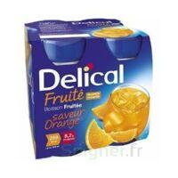 Delical Boisson Fruitee Nutriment Orange 4bouteilles/200ml à ERSTEIN