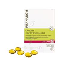 Pranarom Oleocaps 5 Caps Confort Gynécologique & Urinaire à ERSTEIN