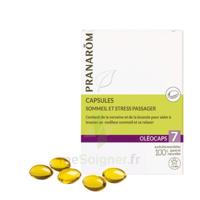Pranarom Oleocaps 7 Caps Sommeil & Stress Passager à ERSTEIN