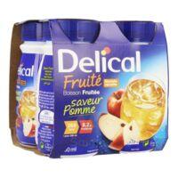 Delical Boisson Fruitee Nutriment Pomme 4bouteilles/200ml à ERSTEIN