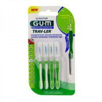 Gum Trav - Ler, 1,1 Mm, Manche Vert , Blister 4 à ERSTEIN