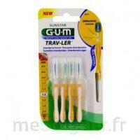 Gum Trav - Ler, 1,3 Mm, Manche Jaune , Blister 4 à ERSTEIN