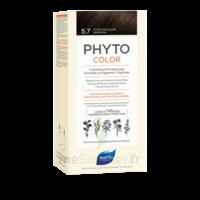 Phytocolor Kit Coloration Permanente 5.7 Châtain Clair Marron à ERSTEIN