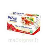 Picot Maman Tisane D'allaitement Fruits Rouges 20 Sachets à ERSTEIN