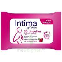 Intima Gyn'expert Lingettes Cranberry Paquet/30 à ERSTEIN