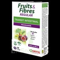Ortis Fruits & Fibres Regular Comprimés 2*b/30 à ERSTEIN
