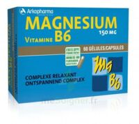 Arkovital Magnésium Vitamine B6 Gélules B/120 à ERSTEIN