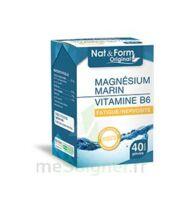 Nat&form Expert Magnésium+vitamine B6 Gélules B/40 à ERSTEIN