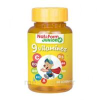 Nat&form Junior Ours Gomme Oursons 9 Vitamines B/60 à ERSTEIN
