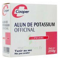 Cooper Alun Potassium Poudre B/250g à ERSTEIN